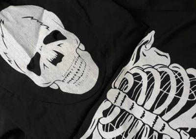 Bonte Koe Verhuur Maasland - Halloween Skeletjurk met bivakmuts