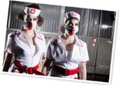 Bonte Koe Verhuur Maasland - Halloween verpleegsters