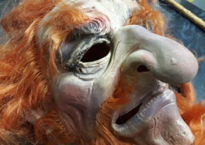 Bonte Koe Verhuur Maasland - Masker Halloween Abraham