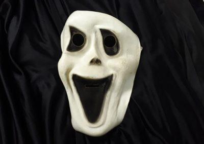 Bonte Koe Verhuur Maasland - Halloween Engerd, met capuchon en masker