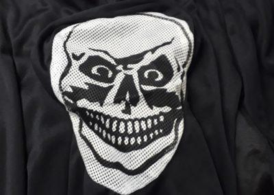 Bonte Koe Verhuur Maasland - Halloween Gewaad met skelet met bivakmuts