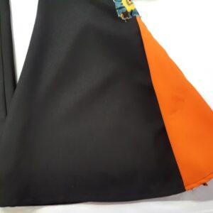 Bonte Koe Verhuur Maasland - Disco broek wijde pijpen oranje
