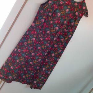 Bonte Koe Verhuur Maasland - Bloemetjes jurk mouwloos Jaren '50
