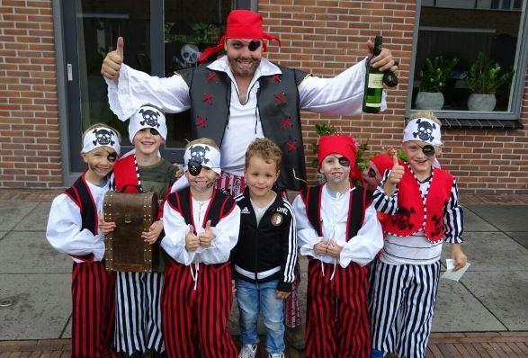 Thema kinderfeest Piraten