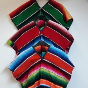 Bonte Koe Verhuur Maasland - Poncho Mexicaan streep