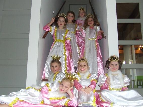 Thema kinderfeest Prinses