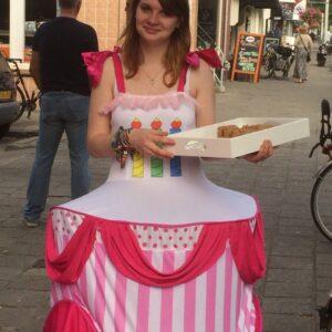 Bonte Koe Verhuur Maasland - Taart jurk