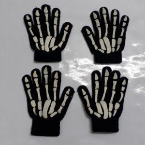 Bonte Koe Verhuur Maasland - Handschoenen skelet kind