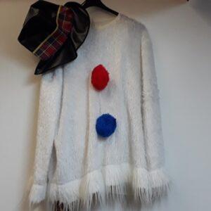 Bonte Koe Verhuur Maasland - Sneeuwpop met hoed