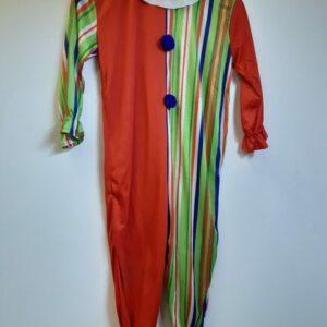 Bonte Koe Verhuur Maasland - Clown onesie kind streep
