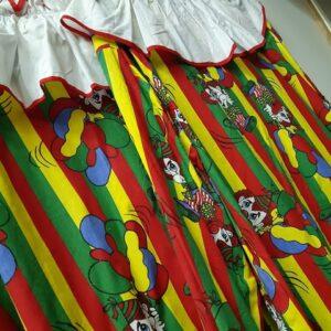 Bonte Koe Verhuur Maasland - Clown volwassene streep