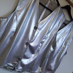 Bonte Koe Verhuur Maasland - Gilet zilver