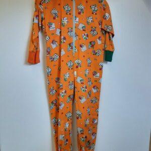 Bonte Koe Verhuur Maasland - Onesie clown oranje kind